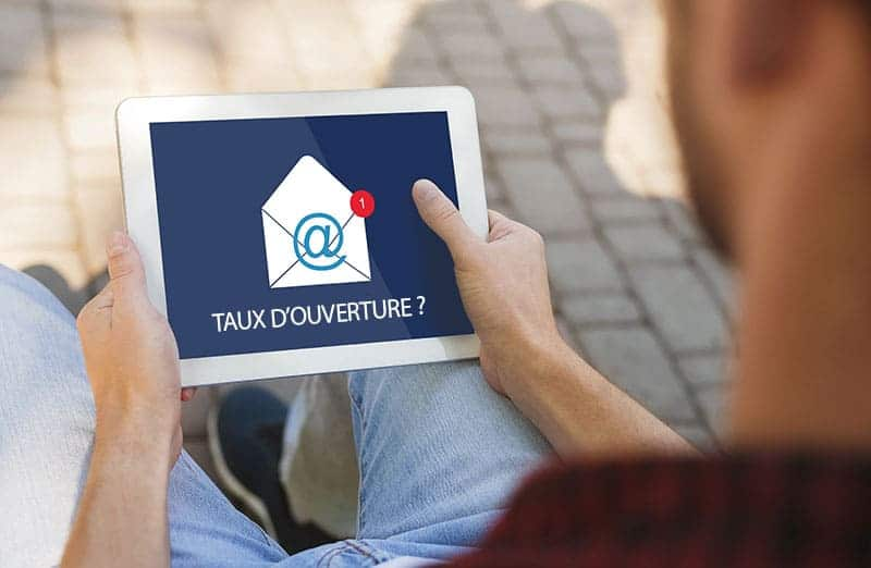 taux ouverture campagne SMS professionnel